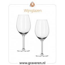 Wijnglazen (set van 2 stuks)