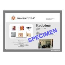 Kadobon 100.00 EUR